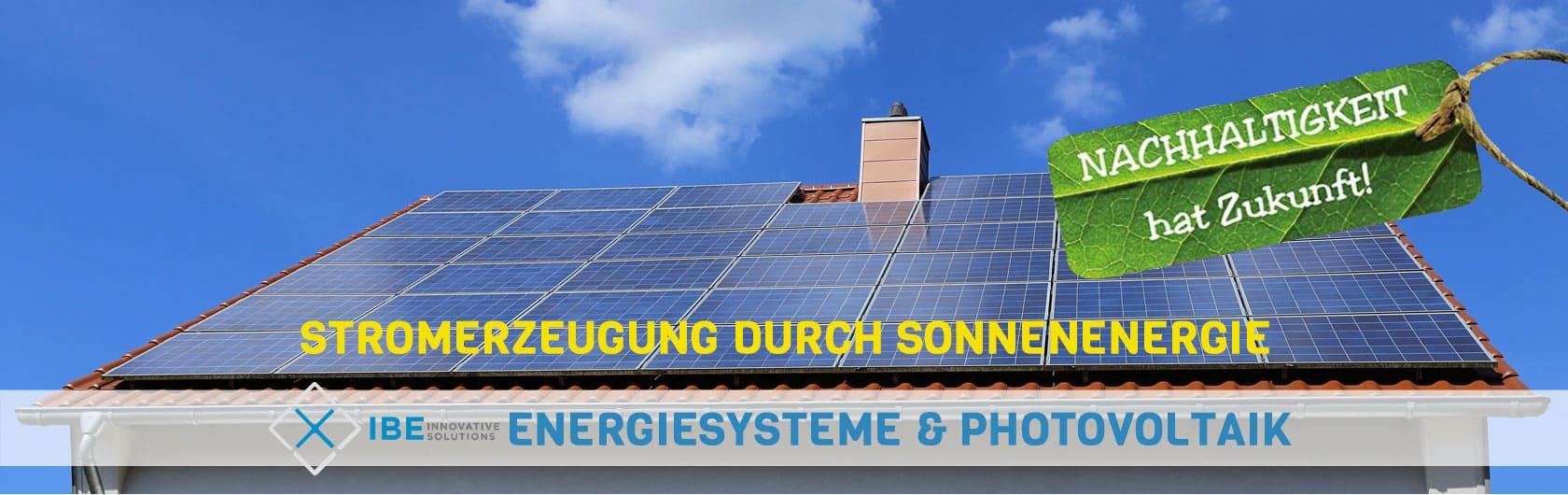 Photovoltaik Solaranlagen PV-Anlagen Eigenstromnutzung Batteriespeicher