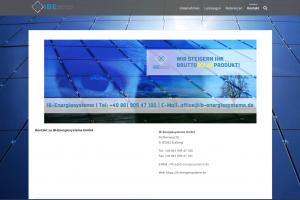 Web Visitenkarte